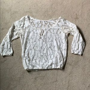 American eagle lace shirt